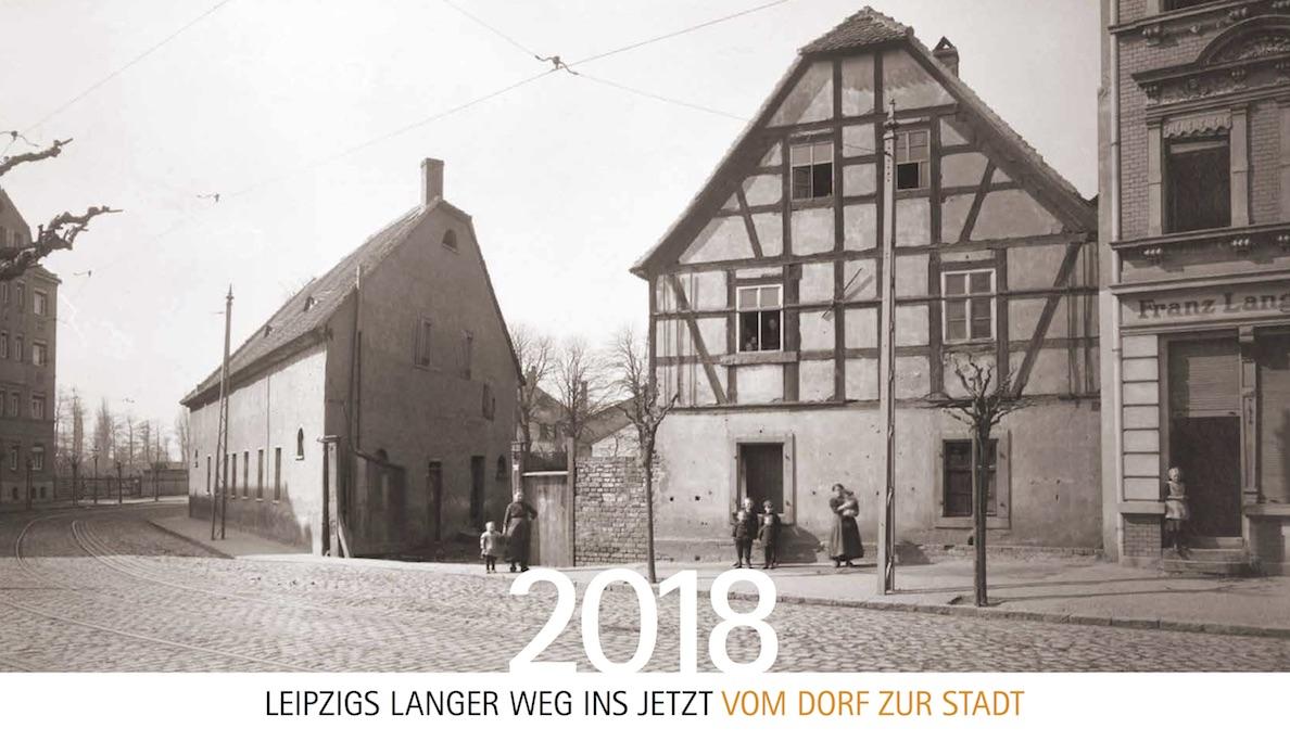 "Titelbild des Kalenders ""Leipzigs langer Weg ins Jetzt"""