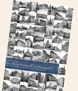 Buchcover mit historischen Gebäudefotos
