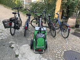 Räder mit Shopper im Einsatz