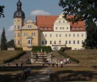Blick auf das Schloss Thallwitz