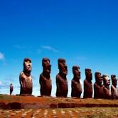 Moai Maea auf der Osterinsel