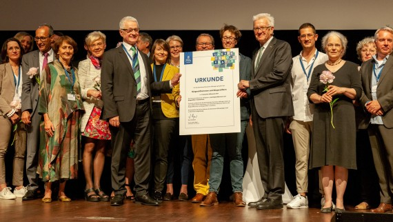 Preisverleihung beim Stiftungstag in Mannheim
