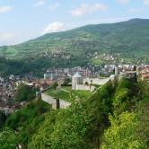 Travnik von oben