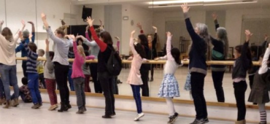Wunderfinder und Paten beim Ballett