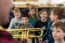 Wunderfinder besuchen Instrumentenbauwerkstatt Voigt in Plagwitz