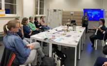 Workshop im Sprachenzimmer