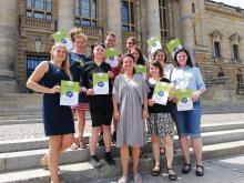 Gruppe aus PreisträgerInnen des Town and Country Stiftungspreises 2019