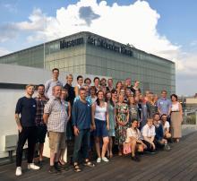 WunderpatInnen auf dem Dach der tagungslounge Leipzig