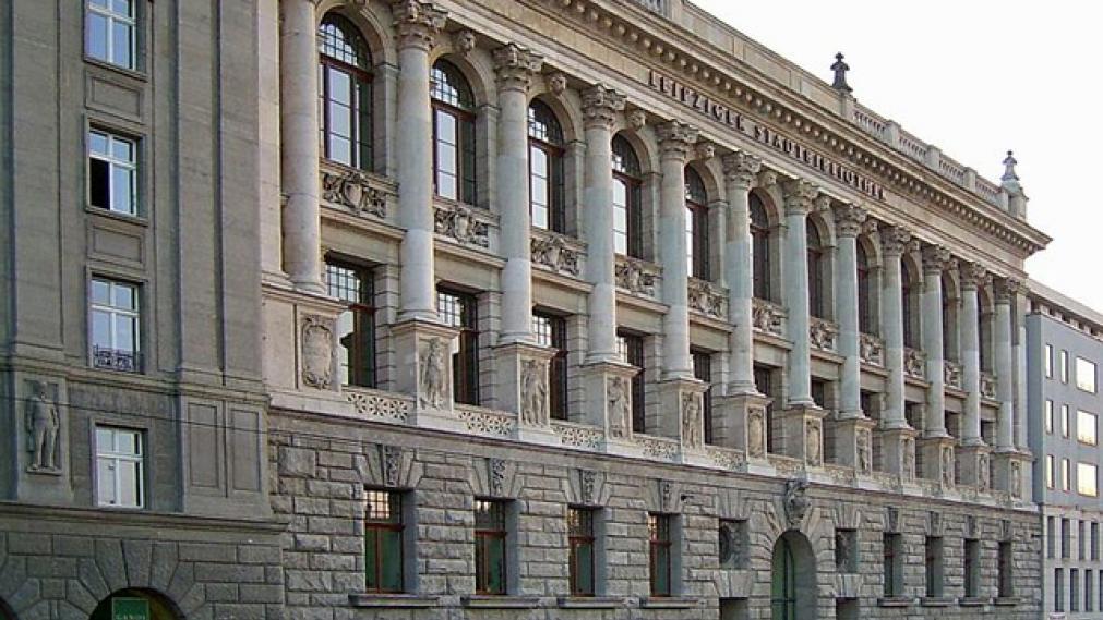 Leipziger Stadtbibliothek Fassade