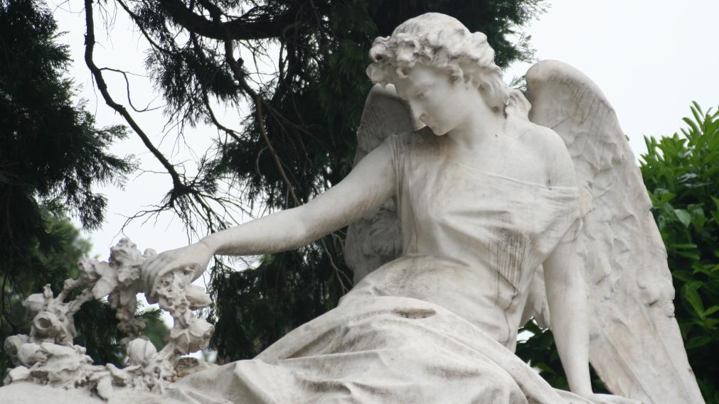 Statue auf dem ... Südfriedhof. (c)dagmarfranke