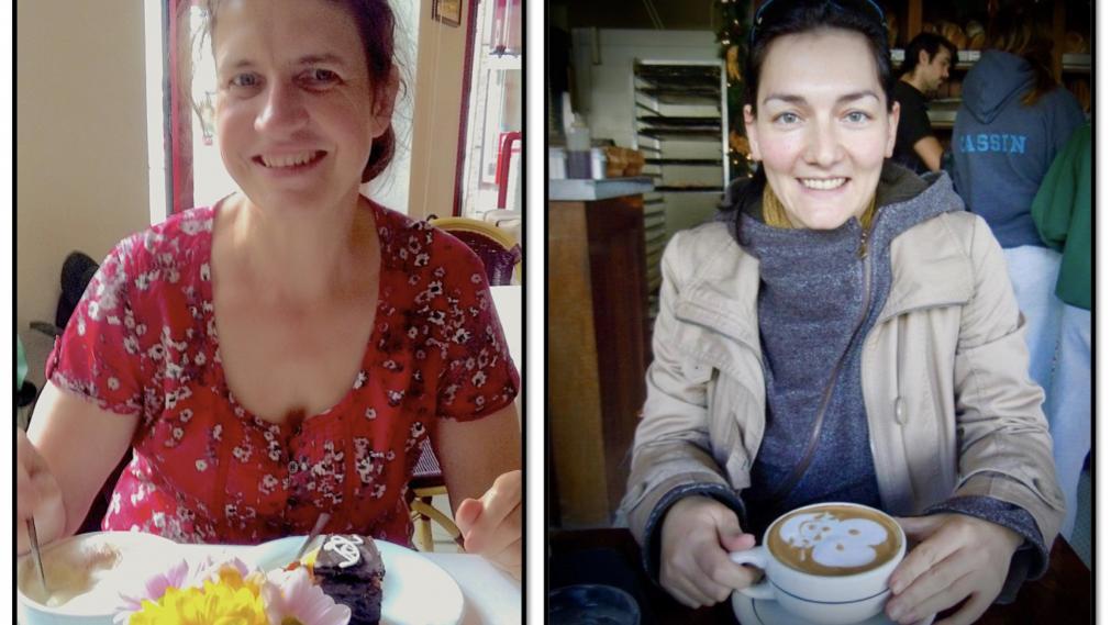 Porträt Rebecca Heinze und Therese Jonas