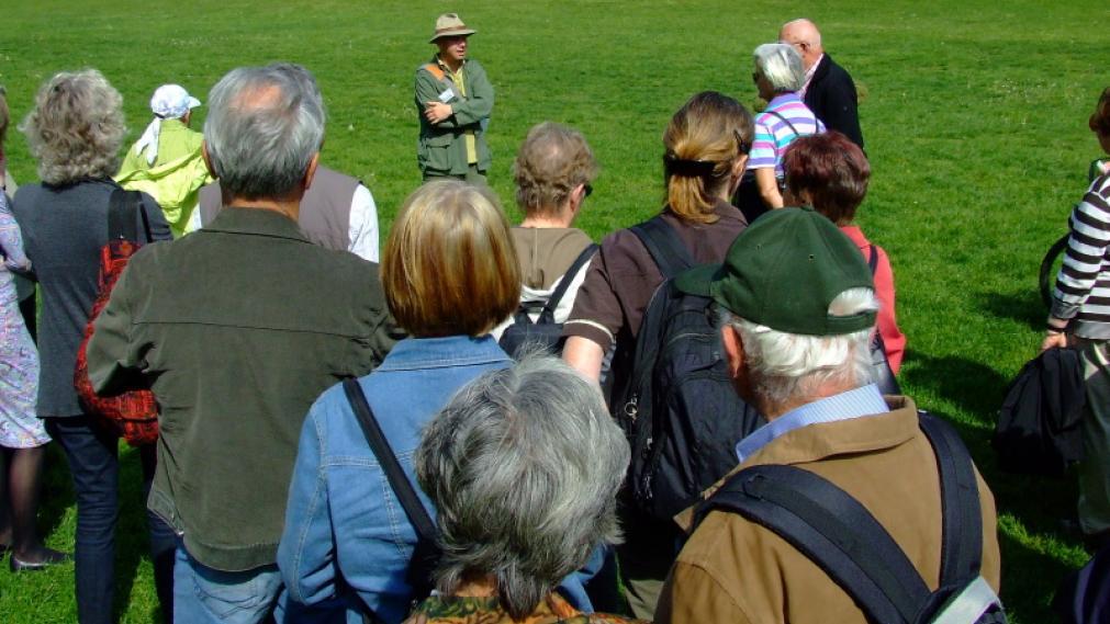 Führung mit Gartenmeister Michael Berninger