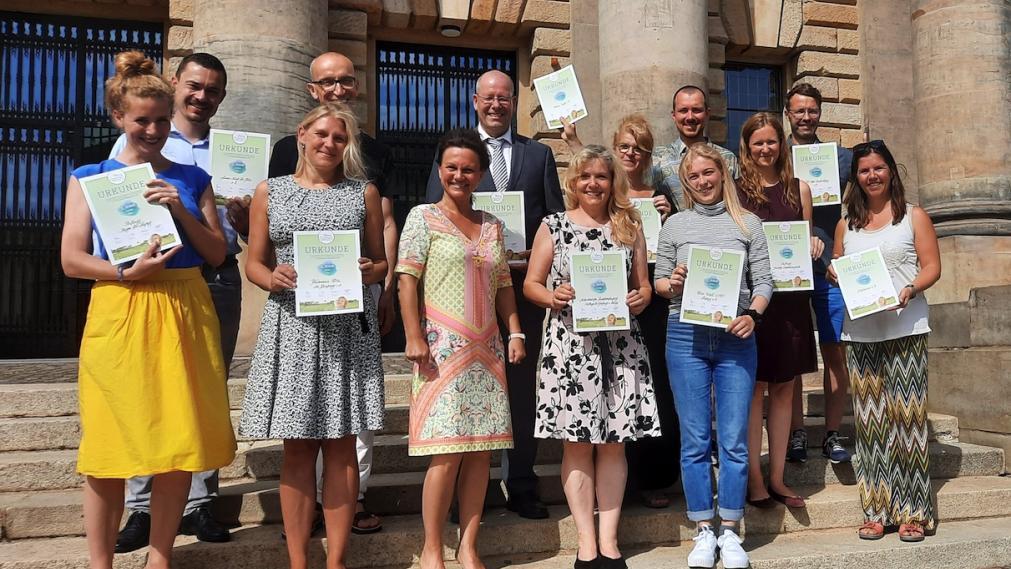 Preisverleihung Town and Country Stiftungspreis Leipzig 2021