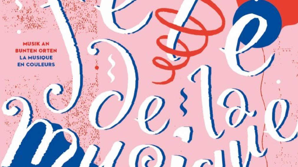 Plakat der Fête de la musique Leipzig